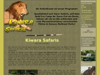 Kiwara Safaris im Tsavo ohne Massentourismus