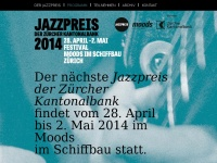 Jazzpreis der Zürcher Kantonalbank