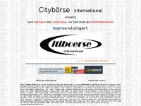 Cityboerse international Börse Broker News Kurse Citi boerse Citiboerse Cityboerse City Boerse AROPA