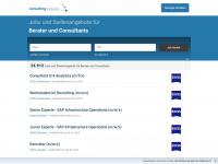 Jobs und Stellenangebote im Consulting und in der Beratung bei consulting-jobs.de