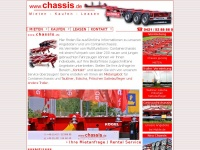 Containerchassis mieten kaufen leasen
