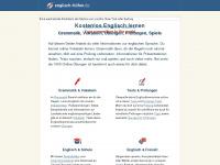 Englisch-hilfen.de - Englisch Lernen Online - Grammatik, Vokabeln, Prüfungen, Spiele