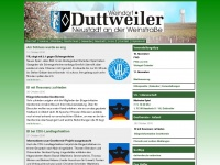 Duttweiler/Pfalz - Herzlich Willkommen - Startseite (Index)