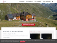 Taschachhaus im Pitztal - DAV Hütte Sektion München Oberland - Ausbildung-Stützpunkt - Seminarraum, Kletterhalle, Eis-Kurse, Gletscher-Kurse, Eisklettern