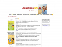 Adoptionsinfo - Alles über Adoption