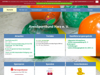 KreiSportBund Harz Startseite
