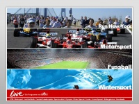 DERTOUR Live - Run New York, Motorsport, Fussball, Marathon, DTM, Leichtathletik, Sportcocktail, Olympia, Winter Special, Tennis, Arena Special
