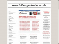 hilfsorganisationen.de