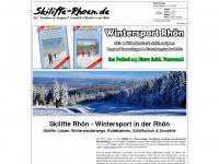 Skilifte Rhön - Ski & Snowboard in der Rhön an Wasserkuppe, Kreuzberg, Arnsberg & Co
