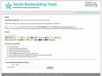 social-bookmarking-tools.de