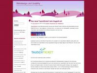 Webdesign und Usability