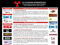 swissradio.org - Swiss Internet Radio Association - IG Schweizer Internetradio - ISI