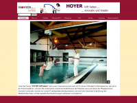 Hoyer-lifter.com - Hoyer hilft heben innovativ und kreativ