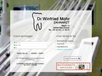 Dr. Winfried Mohr - Zahnarzt