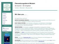 Moeslein - Übersetzungsdienst - Translation Agency - Bureau de Traduction