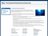 tauchsportindustrieverband.de