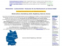 Malerbetrieb, Lackiererbetrieb, Restaurator aus Sachsen-Anhalt