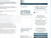Steuerberater Schröder, Steuerberatung und Steuererklärung in Berlin