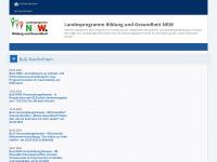 Bug-nrw.de - Landesprogramm Bildung und Gesundheit - Startseite