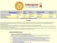 Mallig.eduvinet.de - freiburg-sol, Online-Bio-Unterrichtsmaterialien