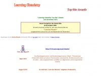 Learning Chemistry Top Site Awards