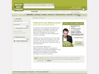Mietrecht und Mieterschutz ~ Mieterschutzbund Online - Mietrechtinformationen - Mieterschutzportal