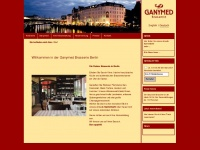 GANYMED Brasserie Berlin