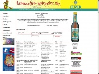 faschings-kalender.de