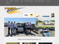 Rallye Gemeinschaft Rosenheim e. V. - Willkommen auf der Startseite