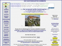 Der europaweit groesste Gesteinsgarten in Gommern
