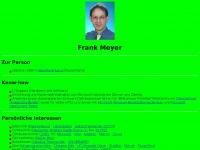 Frank Meyer's Homepage