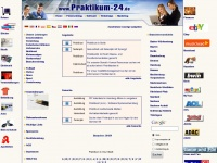 Praktikum : Praktikum-24.de, Jobangebote, Praktikumsb&ouml;rse, Diplomarbeit, Praktika, Firmenbeteiligung.