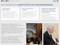 Berggruen Institute on Governance | Homepage