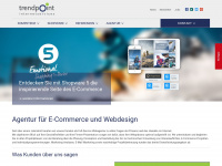 Agentur für Webdesign, Shopware, eCommerce, Weblication CMS, E-Mail Marketing | Internet Agentur TrendPoint GmbH
