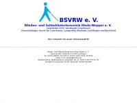Blinden- und Sehbehindertenverein Rhein-Wupper eV - Home