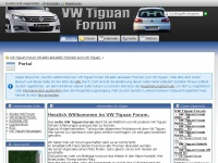 Portal - VW Tiguan Forum mit allen aktuellen Themen zum VW Tiguan.