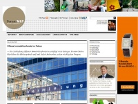 Forum Aktuell - das MLP-Magazin Forum