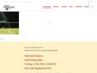 Chor Levantate e.V. Ulm Aktuell - News auf der Startseite // Home //