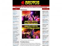 Domovská stránka skupiny BRUTUS