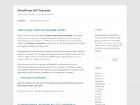 WordPress MU Tutorials | Tutorials, Artikel und Hacks für und über WordPress MU