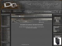 Demolitiongroup.de - |}DemolitionGroupNews - Aktuell