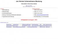 Jan Höcherl Unternehmens-Beratung