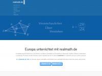 Mathematik anschaulich üben und verstehen - Erfolgreich Mathematik online lernen mit realmath.de