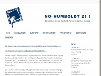 No Humboldt21!