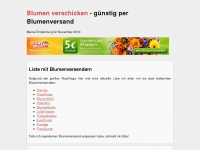 blumenverschicken.org