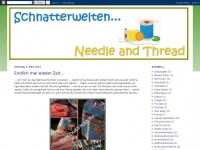 schnatterwelten-needle-and-thread.blogspot.com