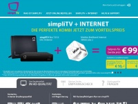 simpliTV: Antennen-TV der neuesten Generation via DVB-T2: Root page