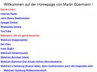 Willkommen auf der Homepage von Martin Büermann