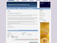 Domainbewerten.com - Domainbewertung kostenlos Domainwert ermitteln