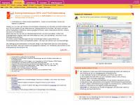 ezSoftware - ezBank 2.4.0 - Banking-Anwendung zur SEPA- und DTAUS-Dateierstellung - Banking-Anwendung, SEPA, DTAUS, Dateierstellung, Zahlungen, Überweisungen, Einziehungen, Lastschriften, Basis-Lastschriften, Firmenlastschriften, Dauerauftrag, SEPA-Datei, elektronischer Zahlungsverkehr, Banksoftware, XML
